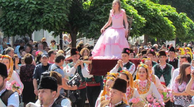 Тържества по случай празника на розата се проведоха в Карлово