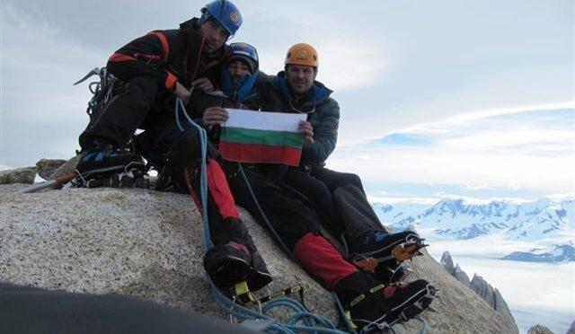Калоферец изкачи връх в централните Алпи в много тежки метеорологични условия
