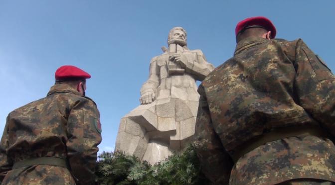 Калофер отбеляза 173 години от рождението на Ботев (ВИДЕО)